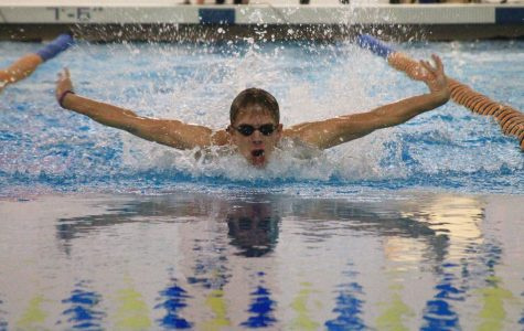 Boys swimming snags second at state