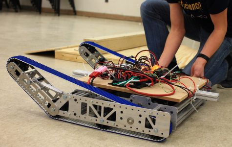 Robotics team pioneers a successful first season at the World Competition