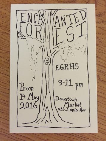 "Student Council plans an ""Enchanted Forest"" prom at the Downtown Market"