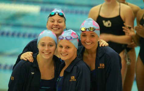 Girls swimming starts off season with a splash