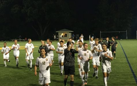 Boys soccer walks away with a win against 2015 Division III state champions