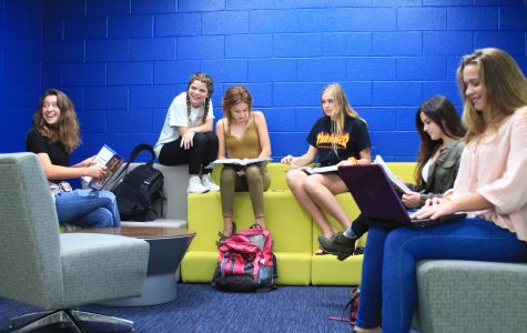 Students embrace change with renovations