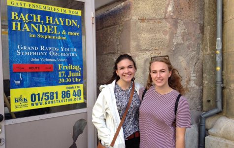EGR students perform cello in Europe