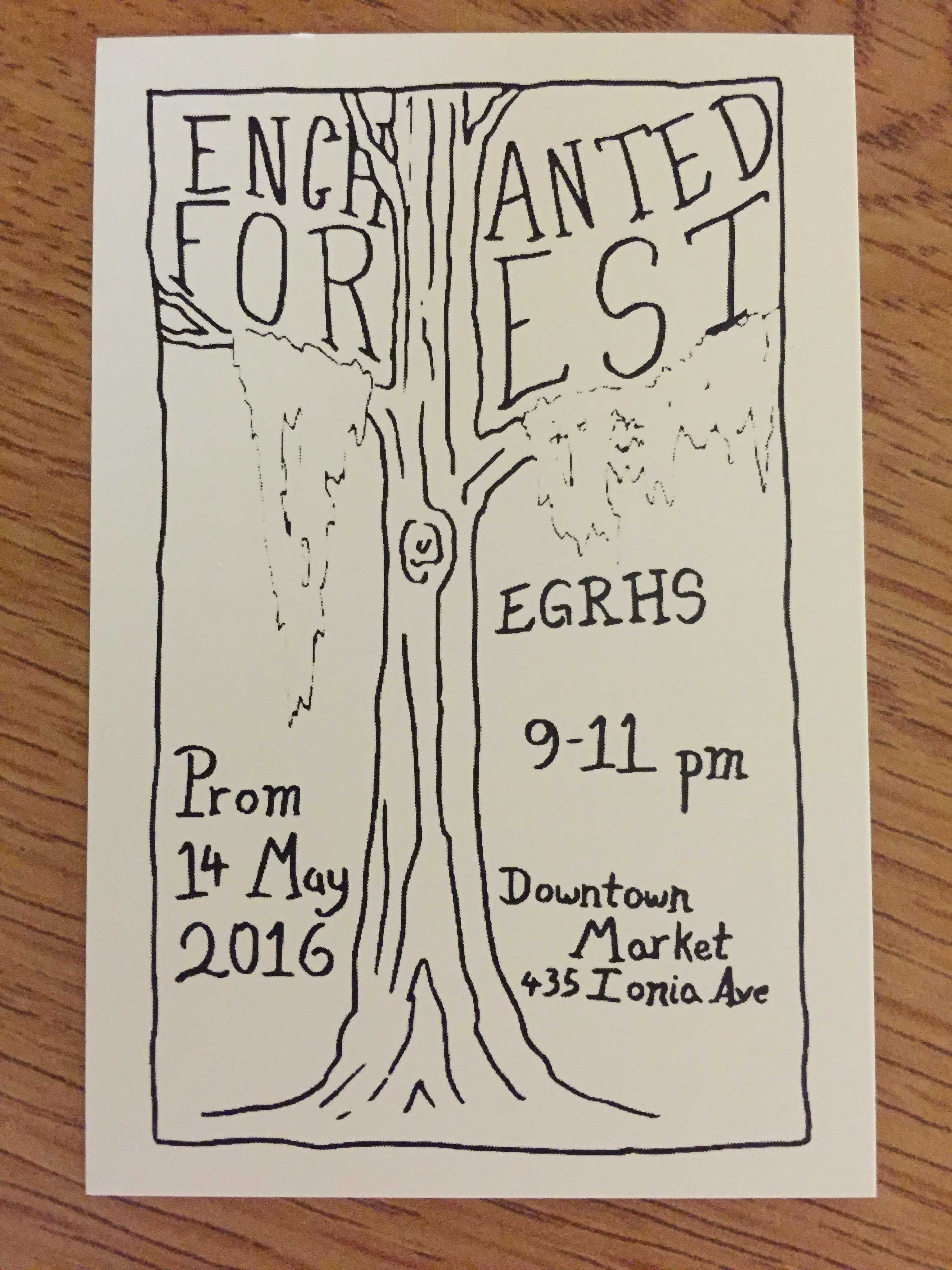 Prom tickets will be sold May 13 during 4th and 5th hour lunch for $20.