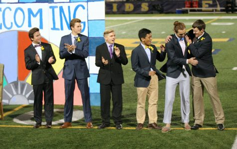 Homecoming court announced at annual Powder Puff game