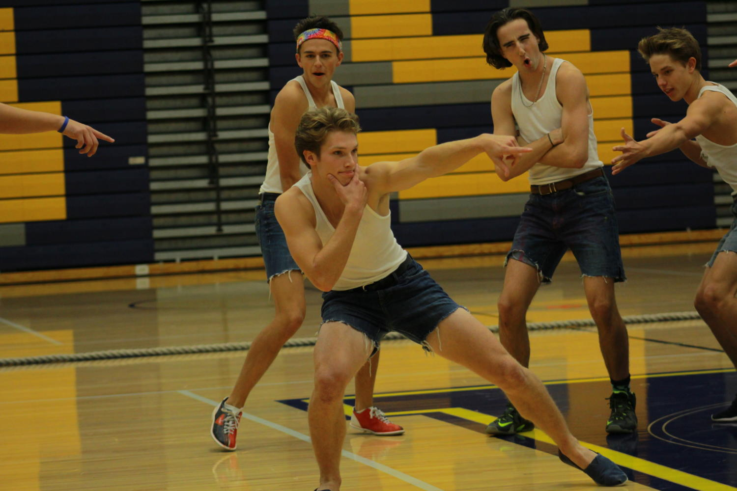 The Spirit Assembly ends Homecoming week on a high note