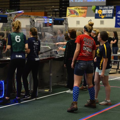 Solid performance from robotics girls at first off-season competition