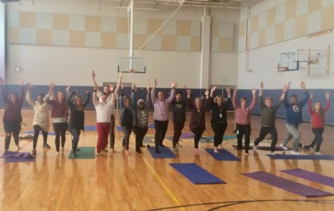 Namaste with Nairobi AYP Instructors