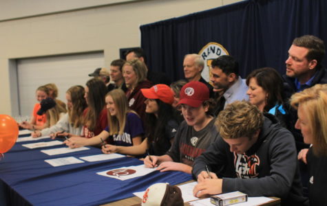 7 athletes commit to their future athletic careers