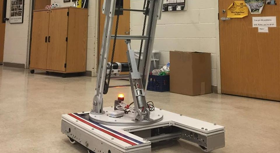 Robotics team successfully completes their third robot