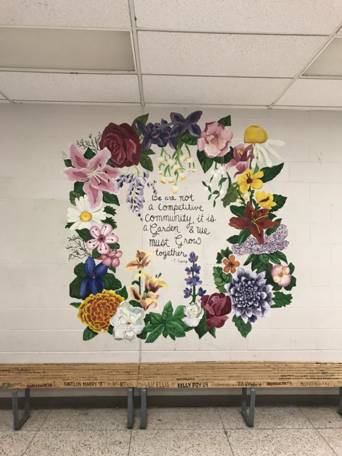 Fine Arts club completes their mural