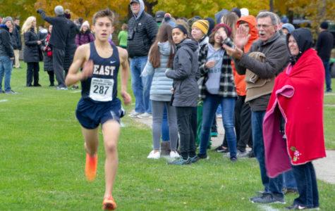 Evan Bishop, runner extraordinare