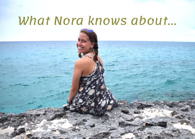 Nora shares her wisdom in her monthly column