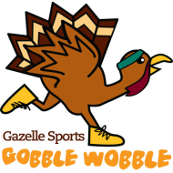 The Gazelle Sports Gobble Wobble is an annual 4.3 mile run around Reeds Lake on Thanksgiving Day.