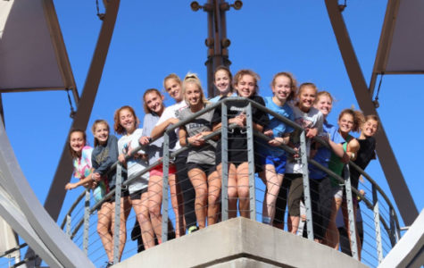 Girls cross country prepares for states