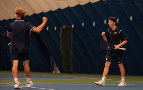 Boys tennis places third at States