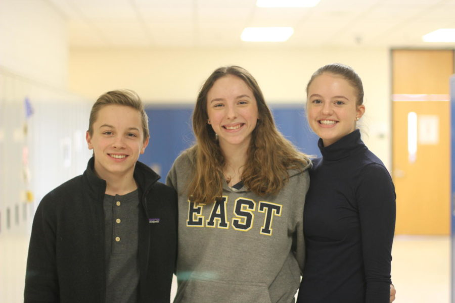 Cosmo Gamaggio '22, Ella Goulet '20, and Lily Pietryga '20 have over 20 years of Nutcracker experience between them.