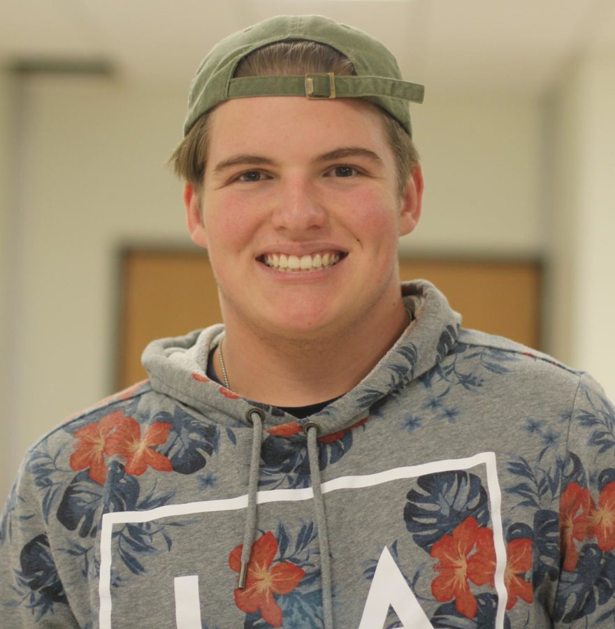 Q: How do you feel about the commercialization of the holiday season?  A: We have been getting away from the true meaning of the holiday season. The whole reason we get time off of school is to spend time with our families and not to spend money or watch TV.  - Levi Neuhaus '21