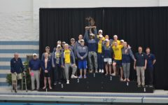 Boys swim team heads to States