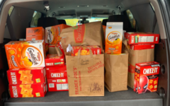 Cheese cracker drive for Kids Food Basket was a success!