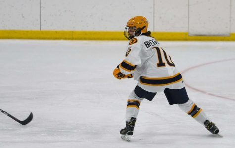 Jane Bergenzer breaks the ice as East's first female Varsity Hockey player