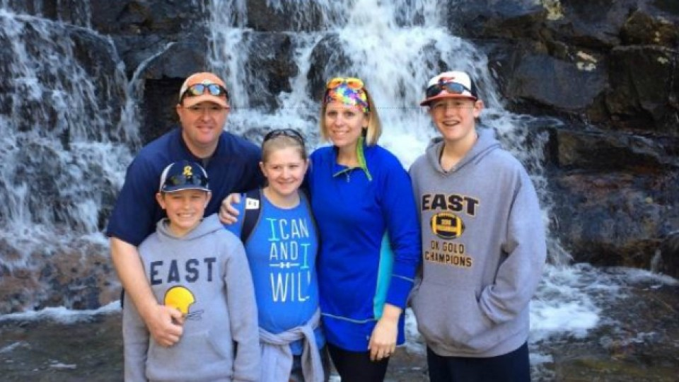 The Fouch Family on vacation. Matt Fouch left his legacy on the community through years of teaching and coaching