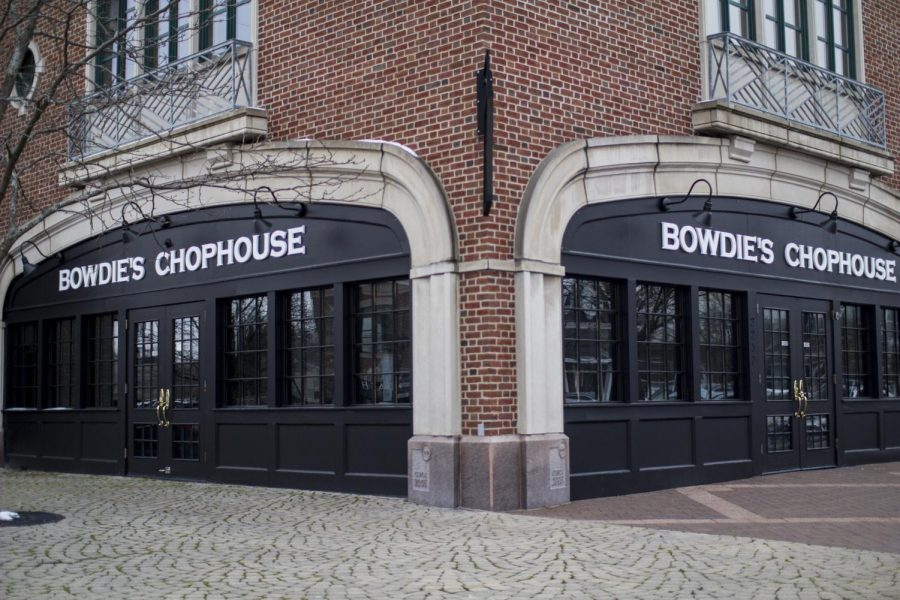 Outside+new+Bowdie%27s+restaurant+in+Gaslight+Village+where+iconic+Derby+Station+once+stood