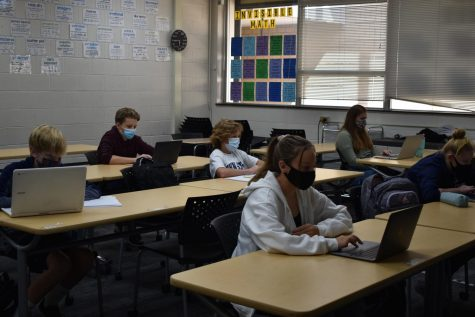 Hard times become even more stressful for student due to online learning