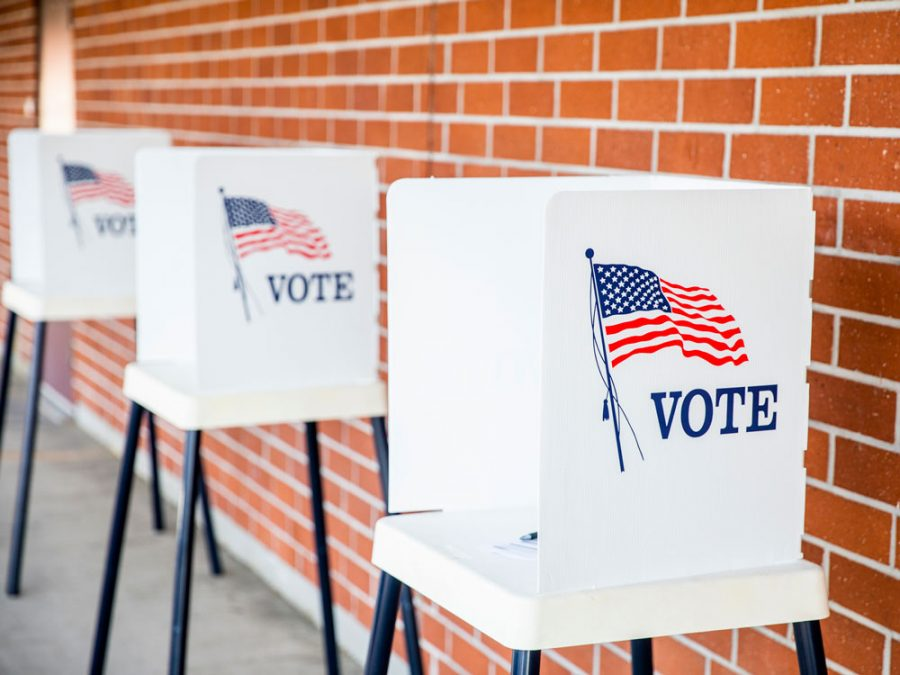 High school students take to the polls this year