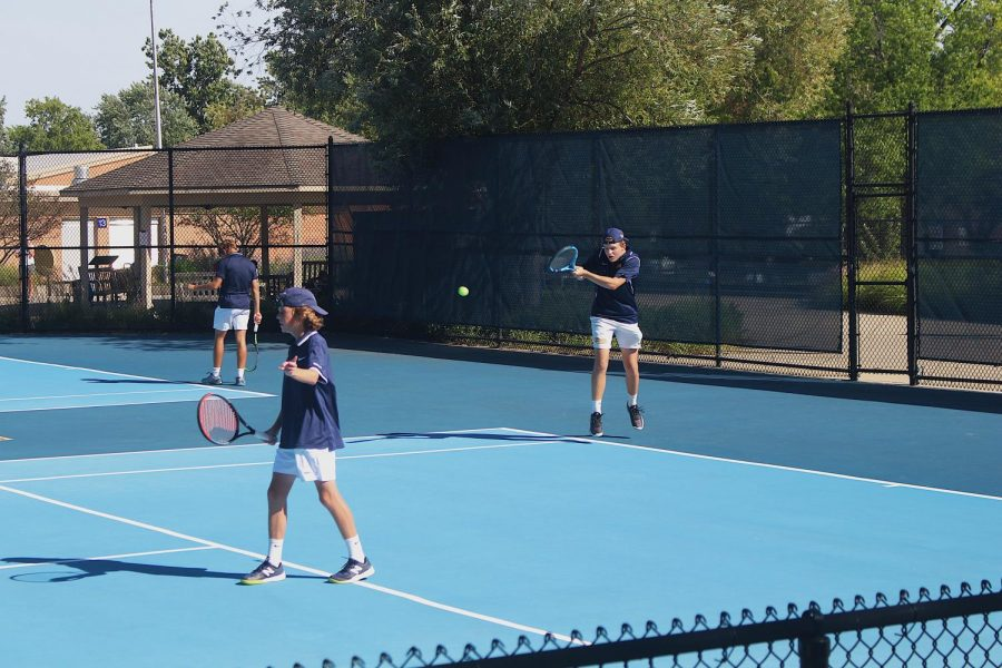 Boys Varsity Tennis season ends at State tournament