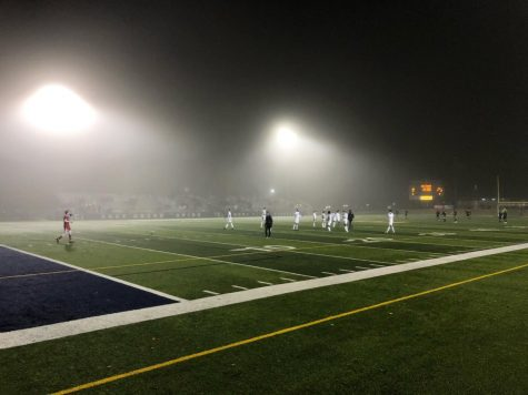 EGR and GR Christian battle under the lights at Memorial. Photo Courtesy: Avery Green