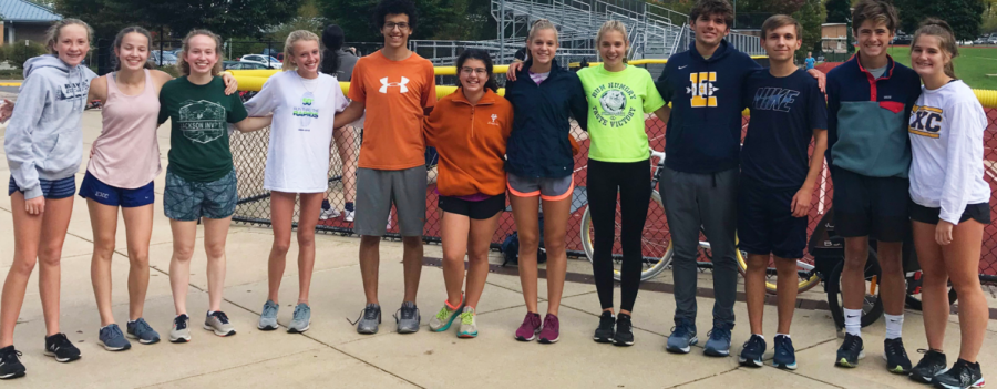 Siblings on the cross country team bring a different dynamic to practice and competitions