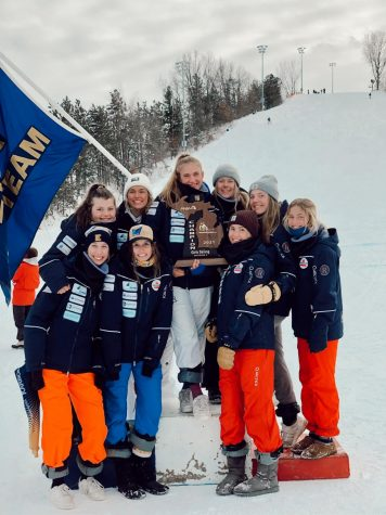 Girls successful ski season comes to an end